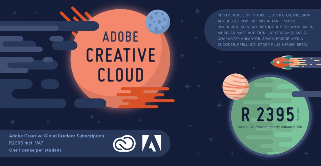 Adobe Creative Cloud CC Student Licences by Learning Curve