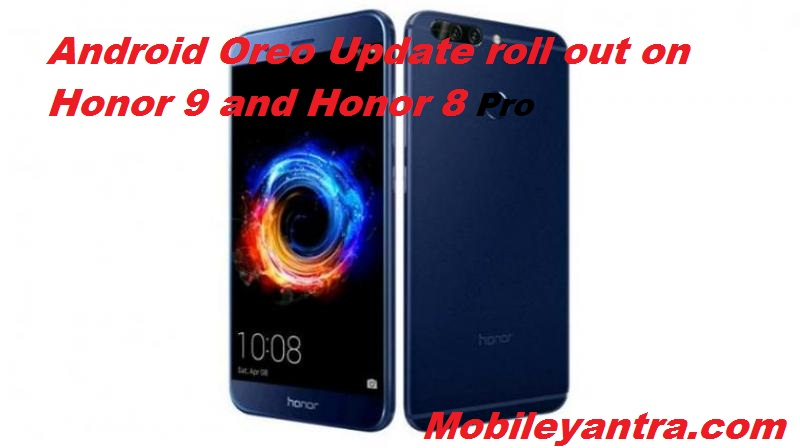 honor 9 upgrade android 8